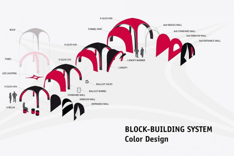 Block-building system - Color Design